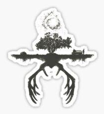 A Tribute to True Detective Sticker