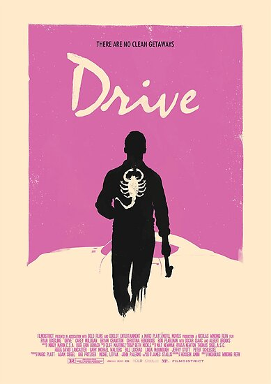 Drive 2011 Poster by Tomathon
