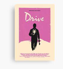 Drive 2011 Poster Canvas Print