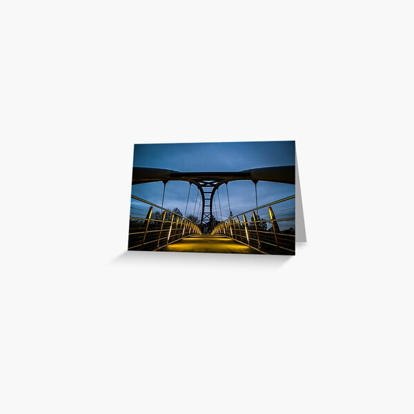 Kirkpatrick Macmillan Bridge, Dumfries Greeting Card
