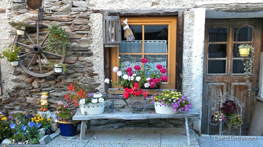 An Austrian Cottage. by Lee d'Entremont