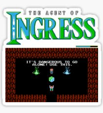 The agent of Ingress Sticker