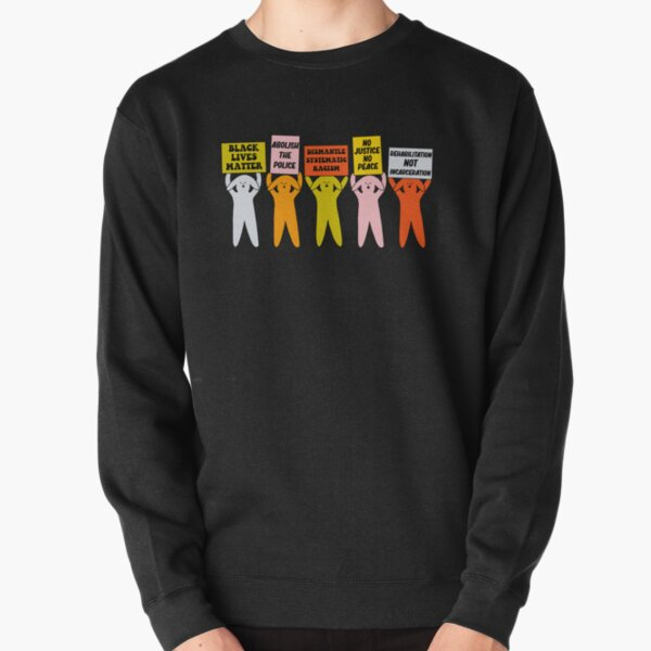 Power to the Puppies - The Peach Fuzz Pullover Sweatshirt