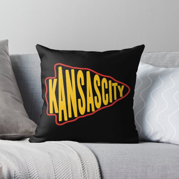 KC Face mask Kansas City facemask KC Kansas City Red Arrowhead 2020 KC Red Kingdom KC Champions Gear Throw Pillow