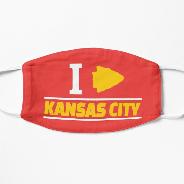 KC Face mask Kansas City facemask KC Kansas City Heart Red Arrowhead Yellow KC Kingdom Kc Hearts Love Letter Football Sports Fan 2020 Classics Mask