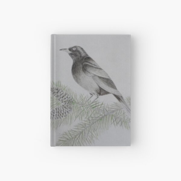 On the 4th Day of Christmas  Hardcover Journal