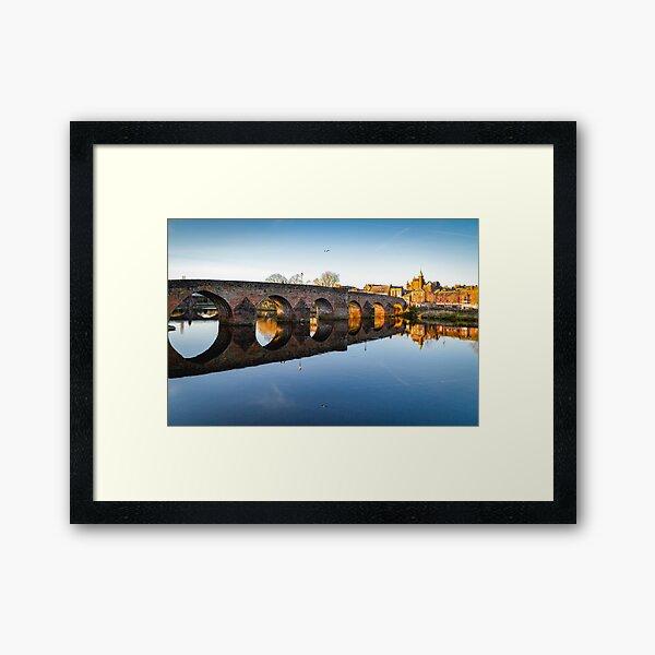 Devorgilla Bridge, Dumfries Framed Art Print