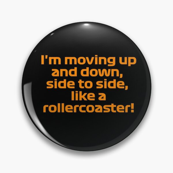 Lando Norris Rollercoaster - F1 Team Radio Pin
