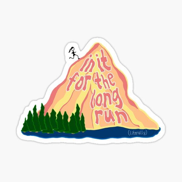 Long Distance Runner Sticker