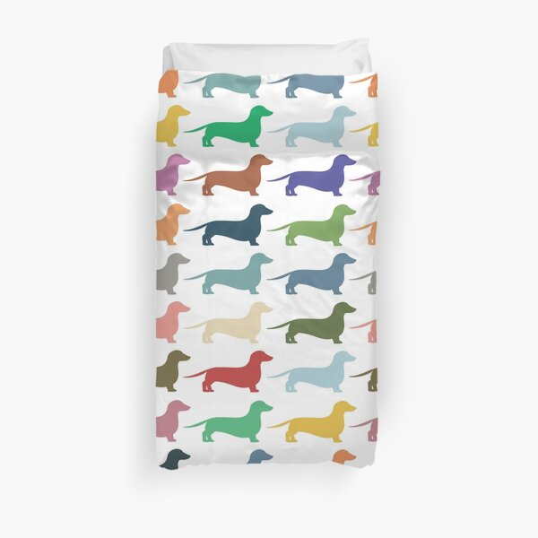 Dachshunds Duvet Cover