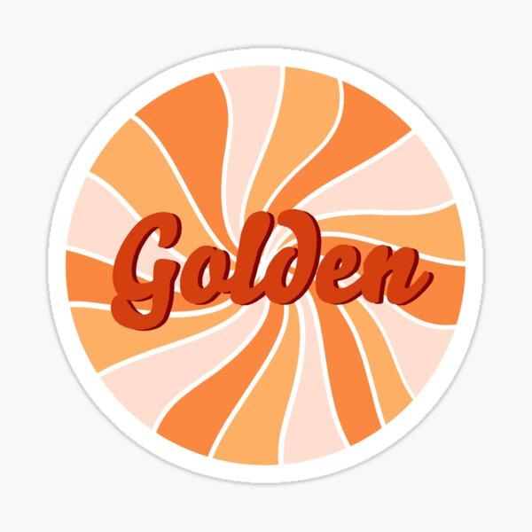 golden, golden Sticker