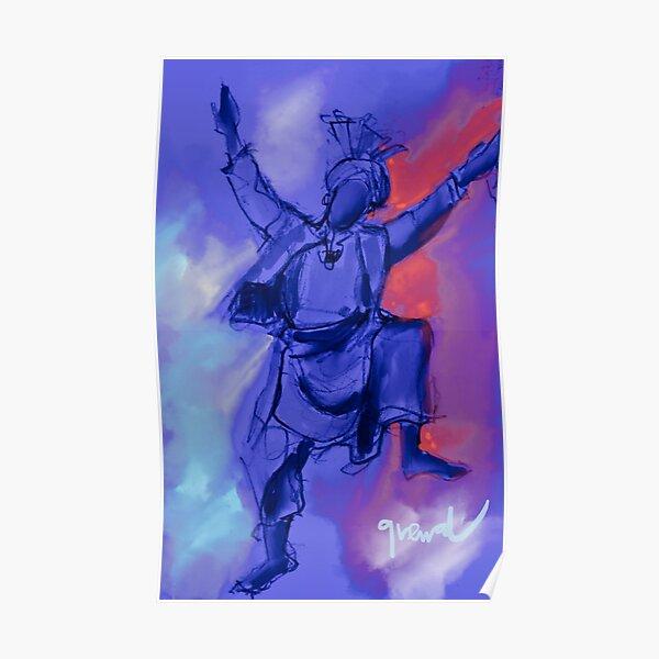 Bhangra dancer  Poster