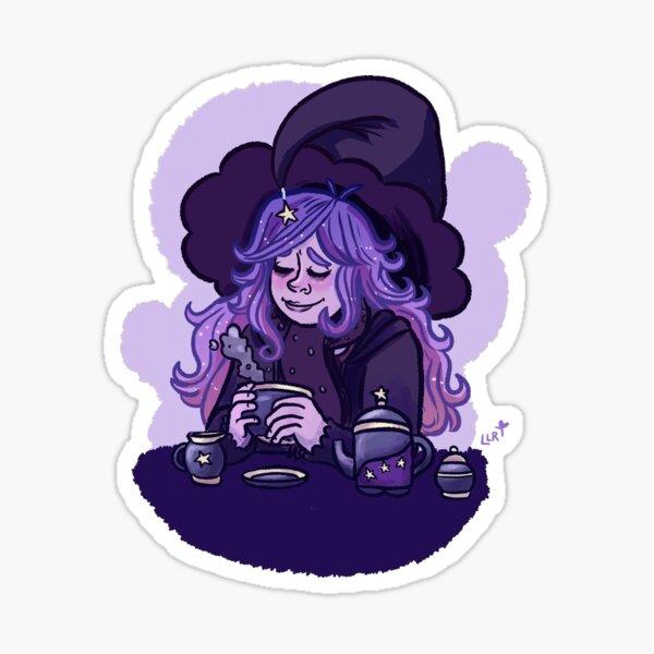 Dreamy Tea Witch Sticker