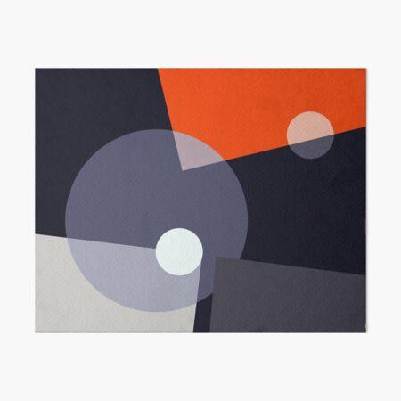 Geometric Abstract Art #2 Art Board Print