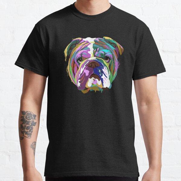English Bulldog Splash Classic T-Shirt