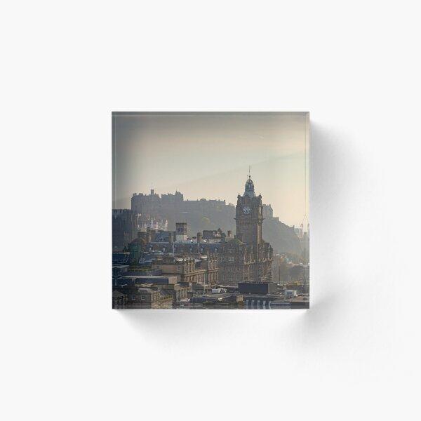 Edinburgh, Scotland (Calton Hill) Acrylic Block