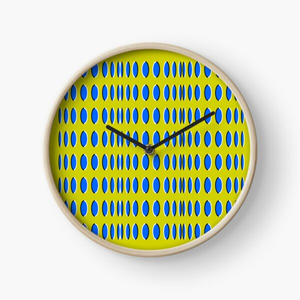 Anomalous motion illusions Clock