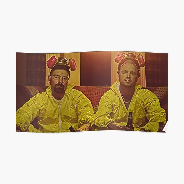 Breaking Bad walt and jesse Poster