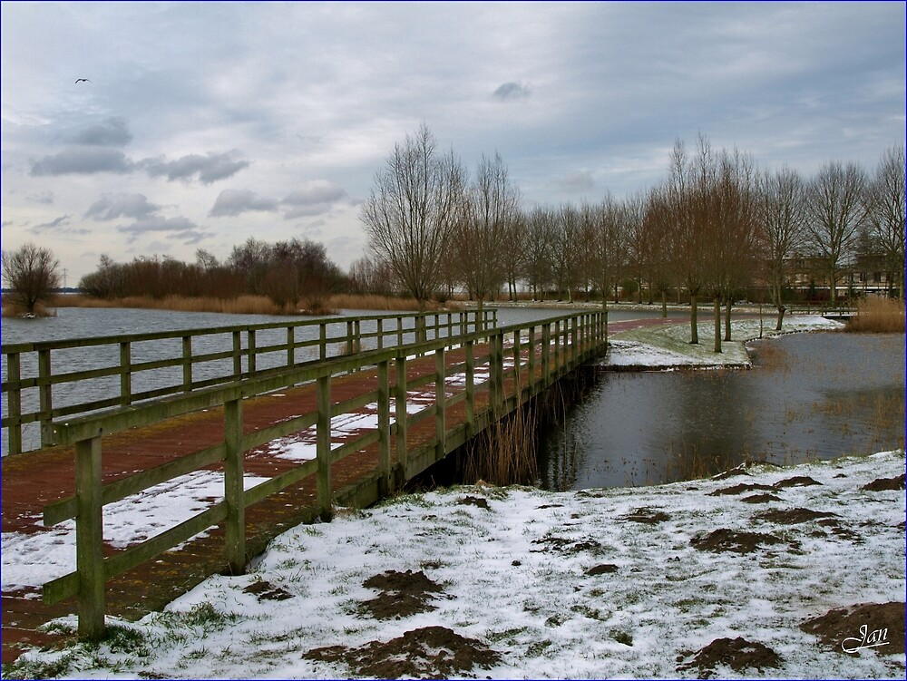 Bridges over IceCold water by Janone