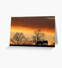 Sunset Serenity Greeting Card