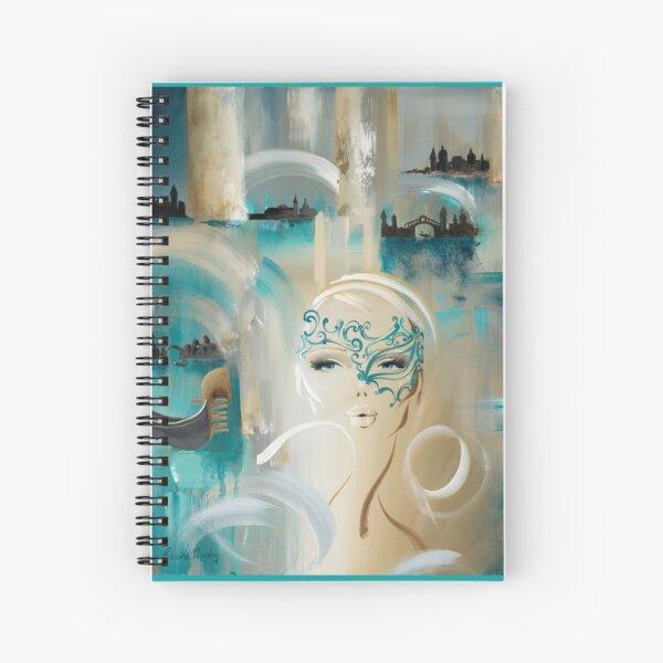 A Night in Venice by Elaine Murphy Spiral Notebook
