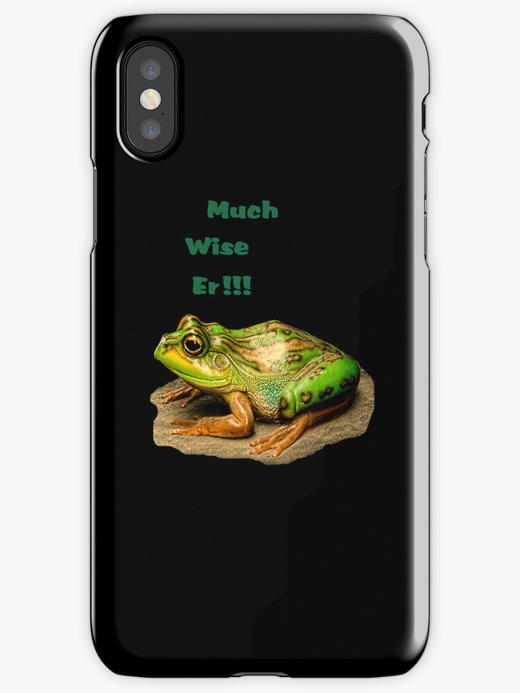 Much Wise Er!!! iPhone Case by Catherine Hamilton-Veal  ©