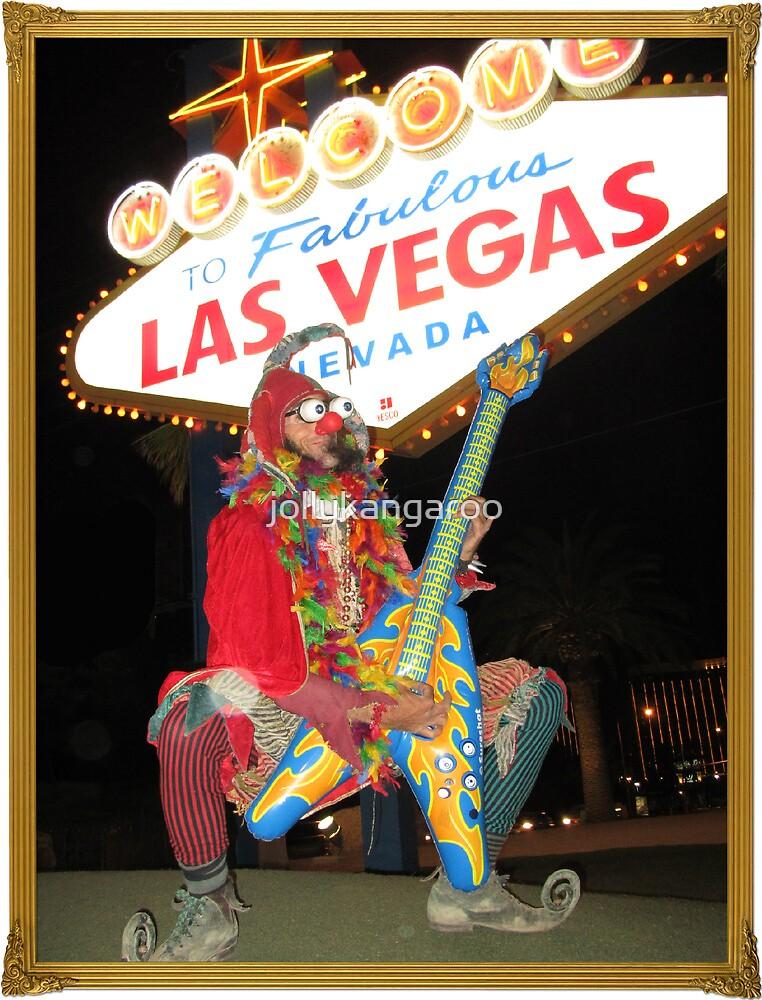Jester Guitarist in Vegas by jollykangaroo
