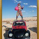 Ladybird Space Hopper Man by jollykangaroo