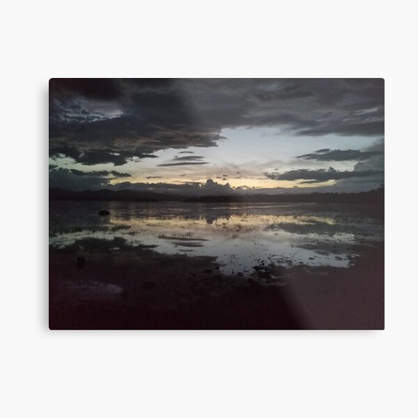 Lake Champlain at Dusk Metal Print
