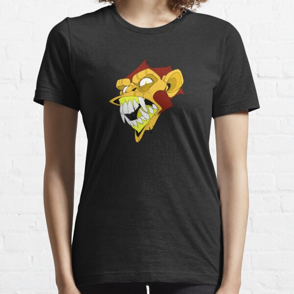 Angry Monkey - Orange/Red No Text Essential T-Shirt