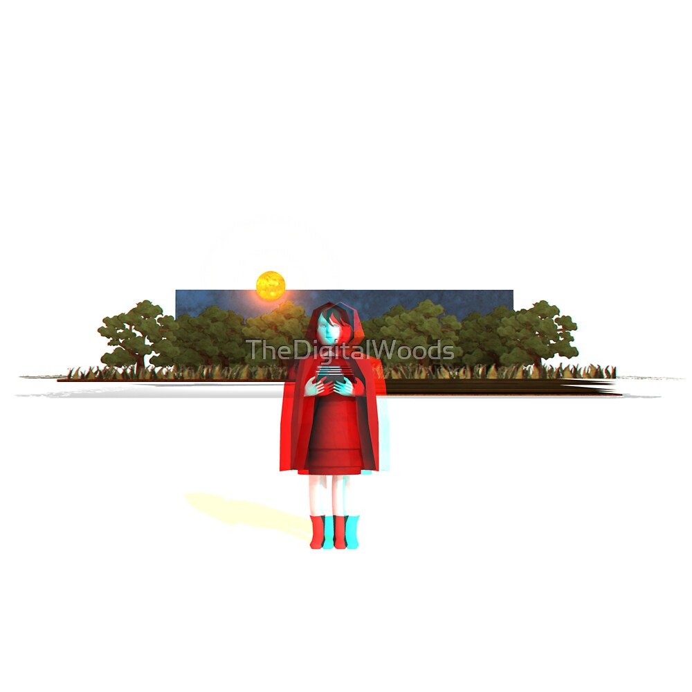 Red - Anaglyph 3d by TheDigitalWoods