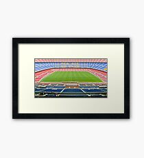 Camp Nou (FC Barca) Framed Print