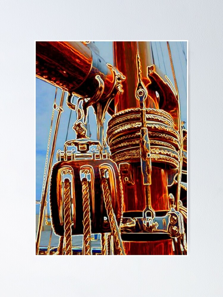 Alternate view of SAILING Poster