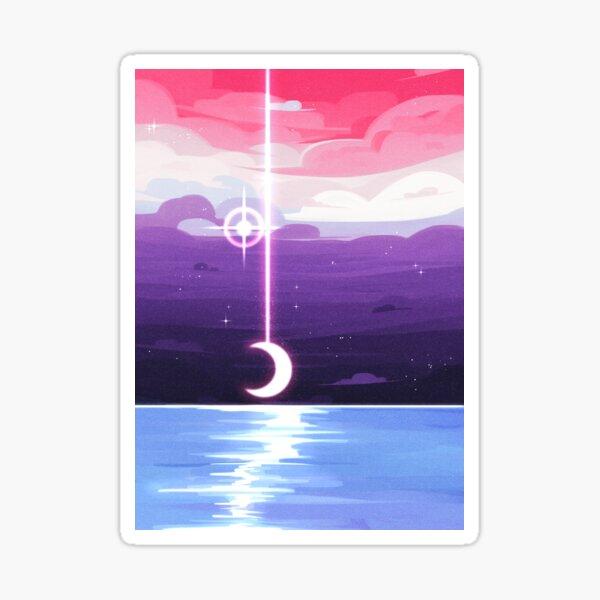 Pride Skies (Genderfluid) Sticker