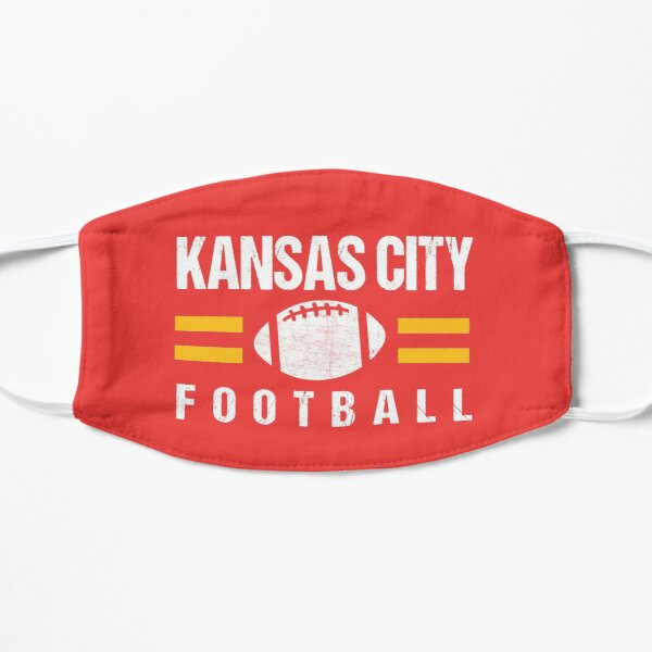 KC Kansas City Red Yellow Football Kingdom Kc 2020 Sports Fan Championship Classic Mask