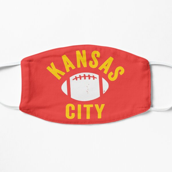 KC Face mask Kansas City facemask Mask KC Football Mask Kansas City Red Yellow Kingdom Kc 2020 Sports Fan Championship Classic Mask