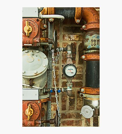 Switches, Valves, Pipes and Dials! Photographic Print