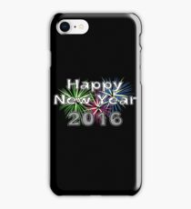 Happy New Year 2016 iPhone Case/Skin