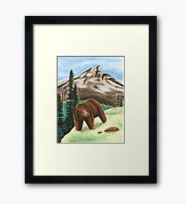 Grizzly Bear Framed Print