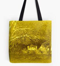 Buffalo Landscape Tote Bag
