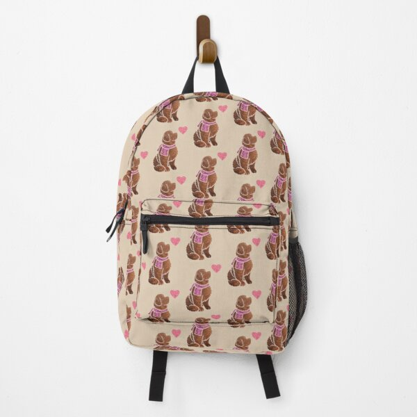 Watercolour Newfoundland (brown/liver) Backpack