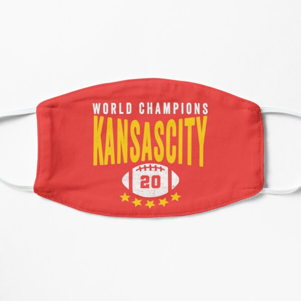 KC Face mask Kansas City facemask Kansas City Red KC World Champions 2020 Sports Fan Classics Mask