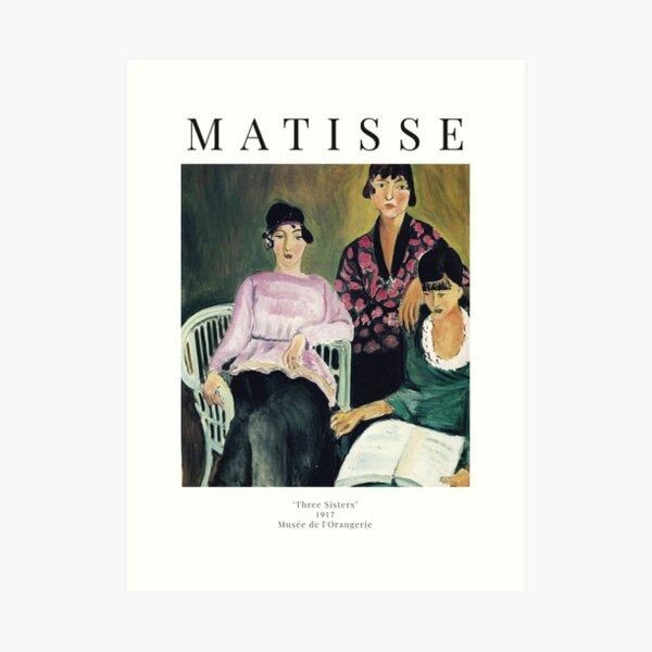 Henri Matisse - Three Sisters - Exhibition Poster Art Print