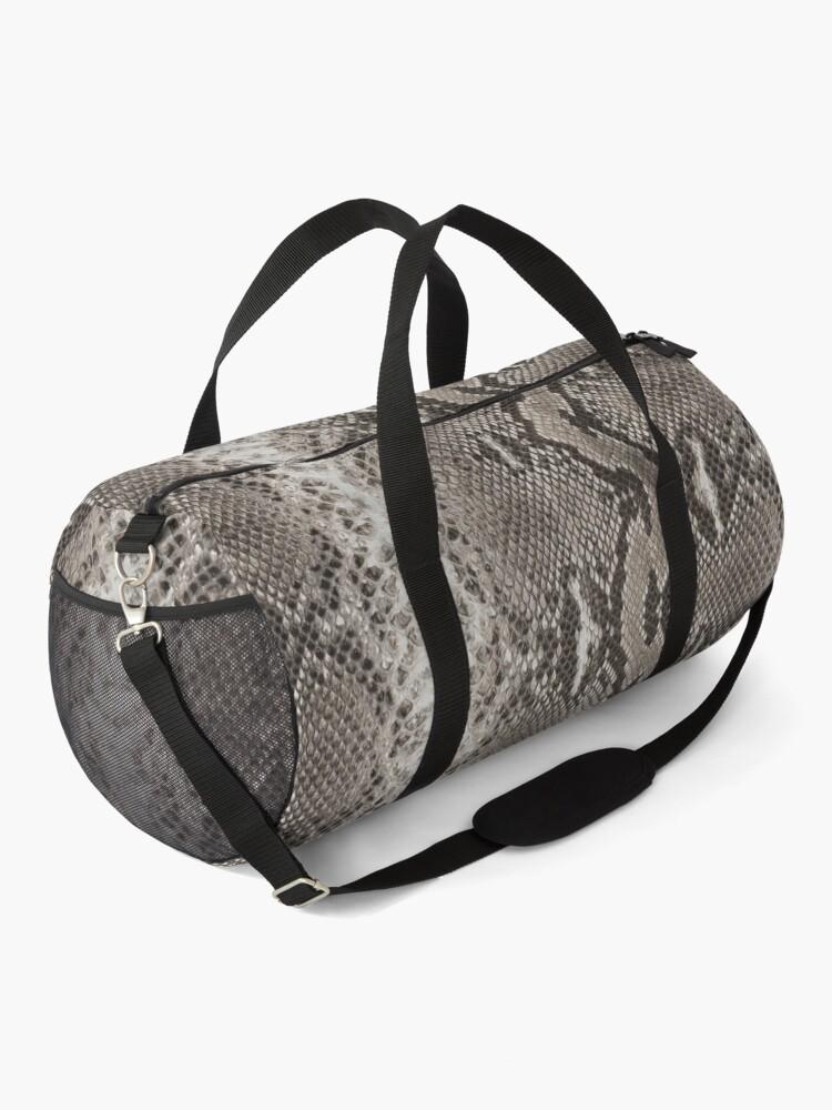 Alternate view of Snakeskin Python  Duffle Bag