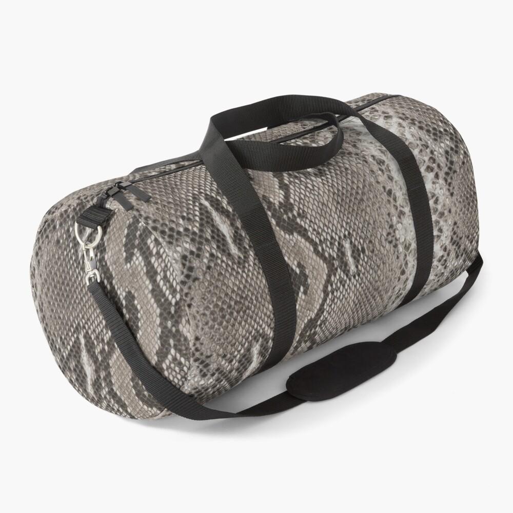 Snakeskin Python  Duffle Bag