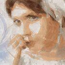 Decision - Emotional Digital Portrait by Galen Valle