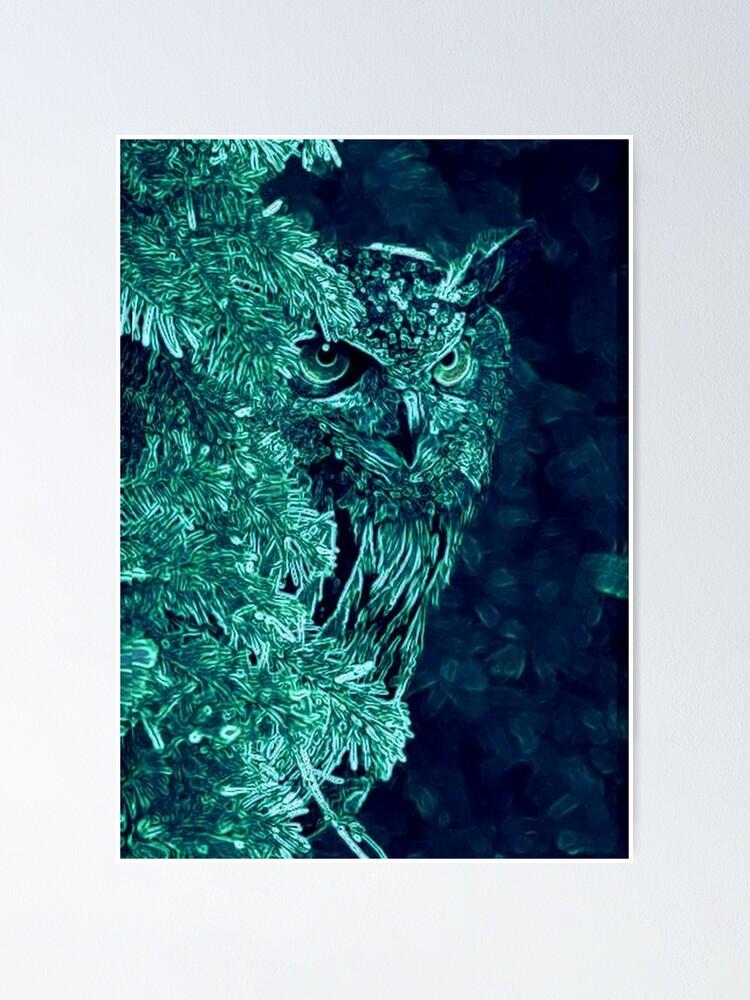 Alternate view of OWL PEEKABOO Poster