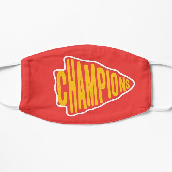 KC Face mask Kansas City facemask KC Champions Arrowhead Red Kingdom 2020 Kansas City Champs, Sports & Football Fan Classic Mask