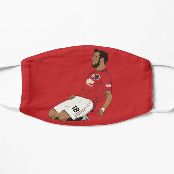 Bruno Fernandes Knee Slide MUFC Flat Mask
