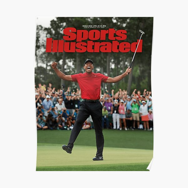 Sports Illustrated - Tiger Woods Masters 2019 Poster